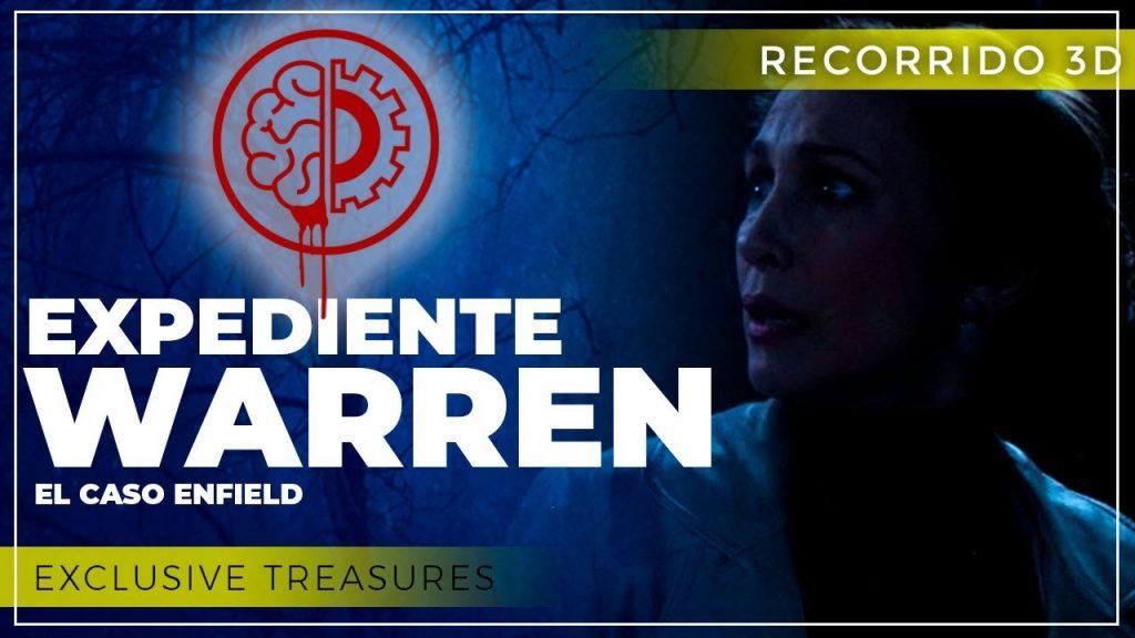 TerrorMakers Exclusive Treasures Expediente Warren
