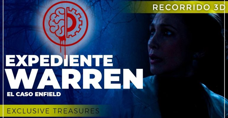 TerrorMakers Exclusive Treasures Expediente Warren