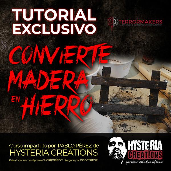 TUTORIAL CONVIERTE MADERA EN HIERRO