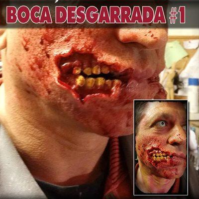 Boca Desgarrada pt009M_protesis de gelatina terrormakers