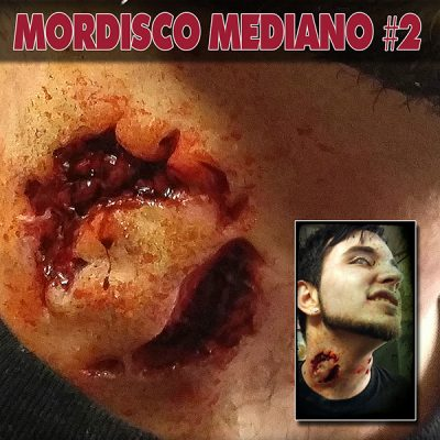Mordisco Mediano 2 pt010M_protesis de gelatina terrormakers